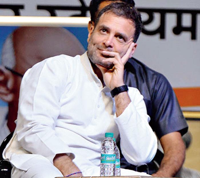 Rahul Gandhi - National Convention - organised - OBC Department of AICC - Indira Gandhi Indoor Stadium - New Delhi.