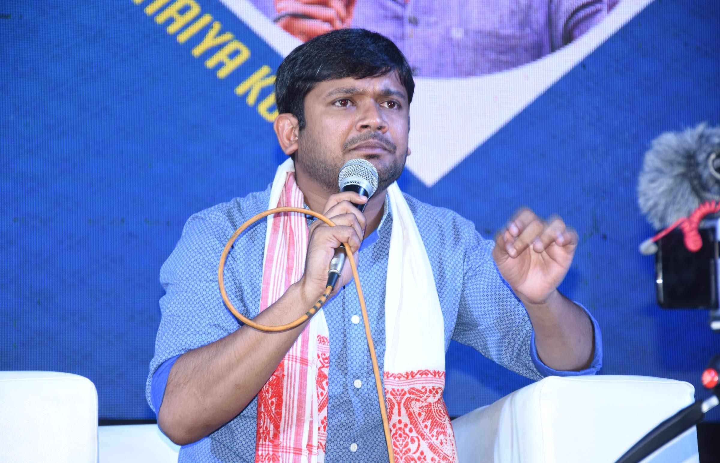 Kanhaiya Kumar was in Gwalior to address a seminar as part of the