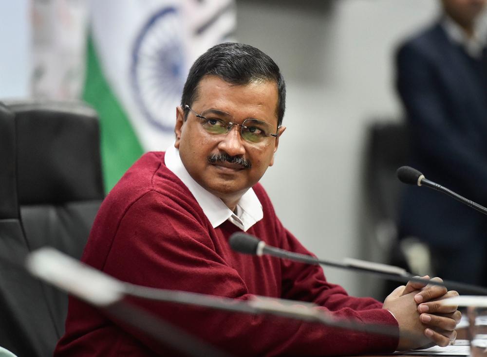 Arvind Kejriwal during a FICCI event in New Delhi on December 13