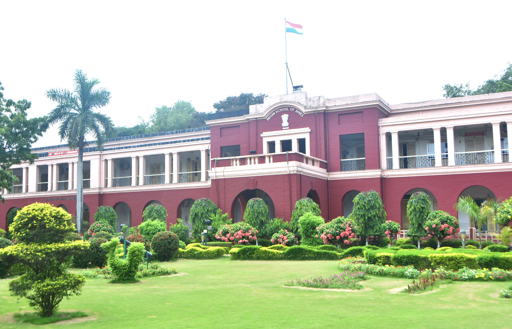 A view of the heritage building of IIT(ISM), Dhanbad, on Wednesday, June 24, 2020.