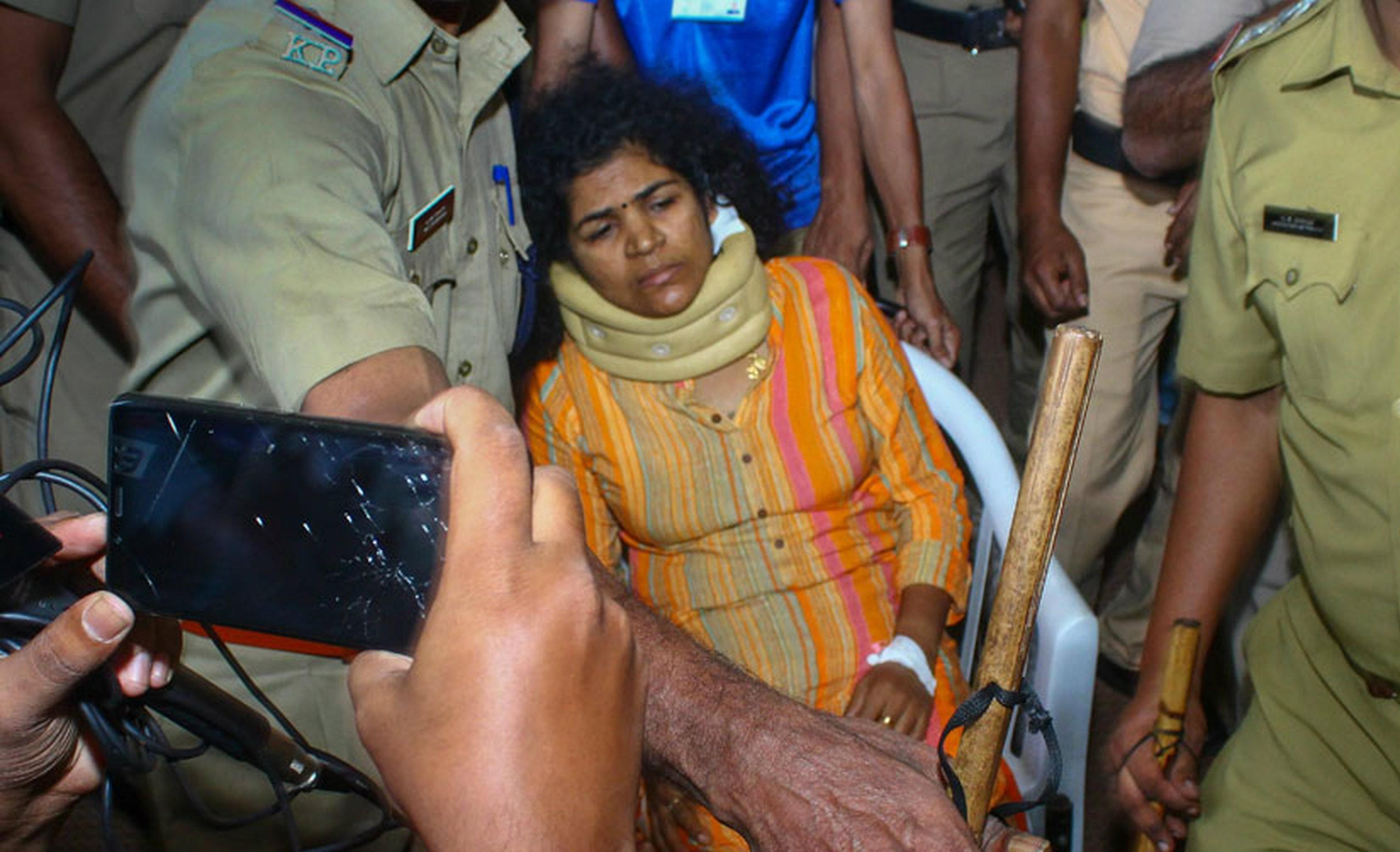 Back from hospital, Kanakadurga finds her house locked