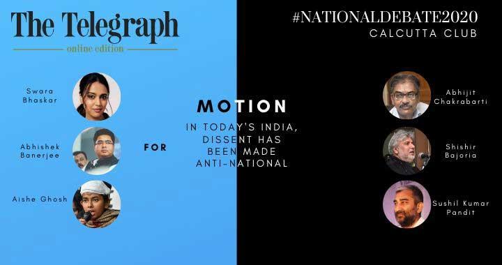 Calcutta Club The Telegraph National Debate 2020