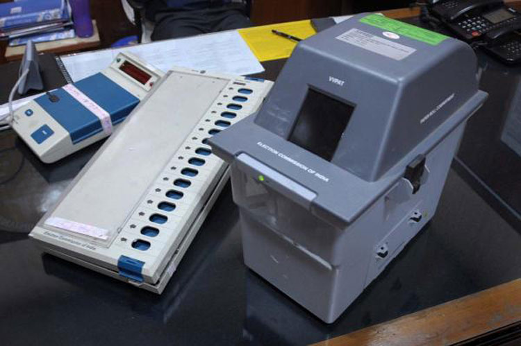 The Election Commission now permits only one VVPAT device per Assembly segment to be tallied with the result reflected on electronic voting machines
