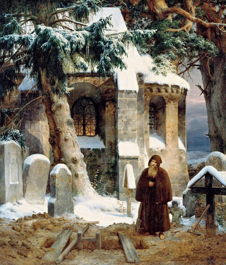 A painting by Karl Friedrich Lessing