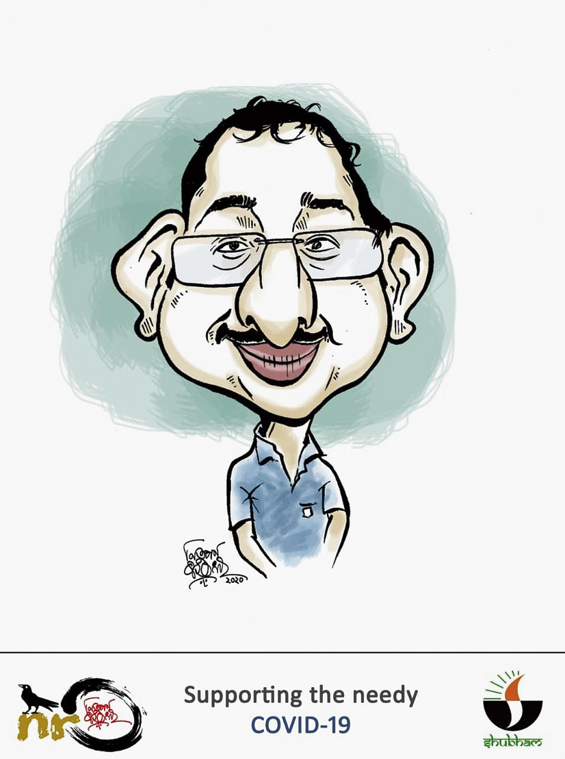 The caricature of a donor