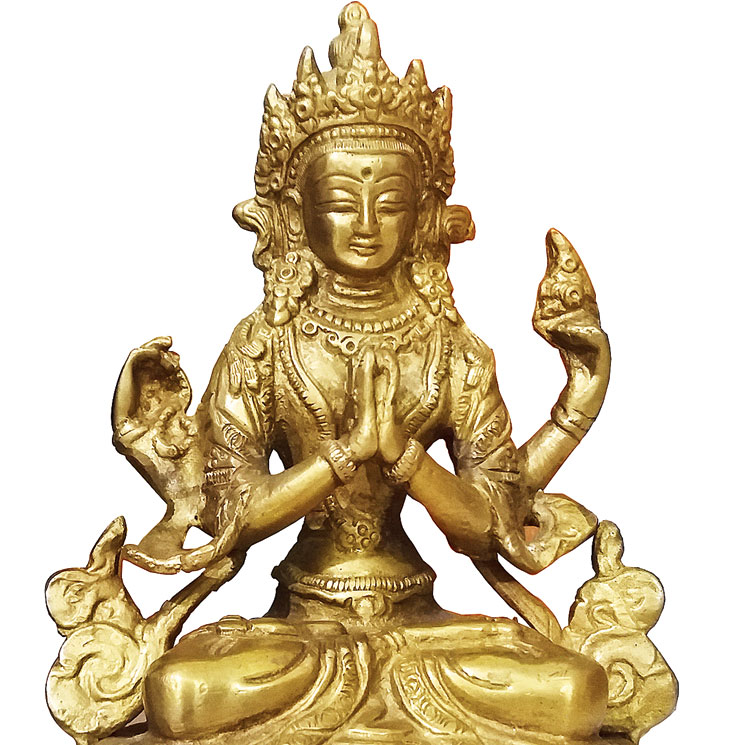 An idol of Sadaksari-Lokesvara