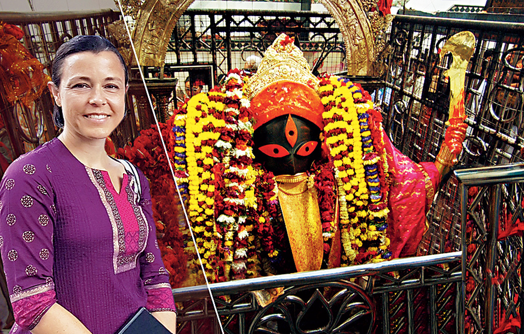 Temple tourist with Kali at heart