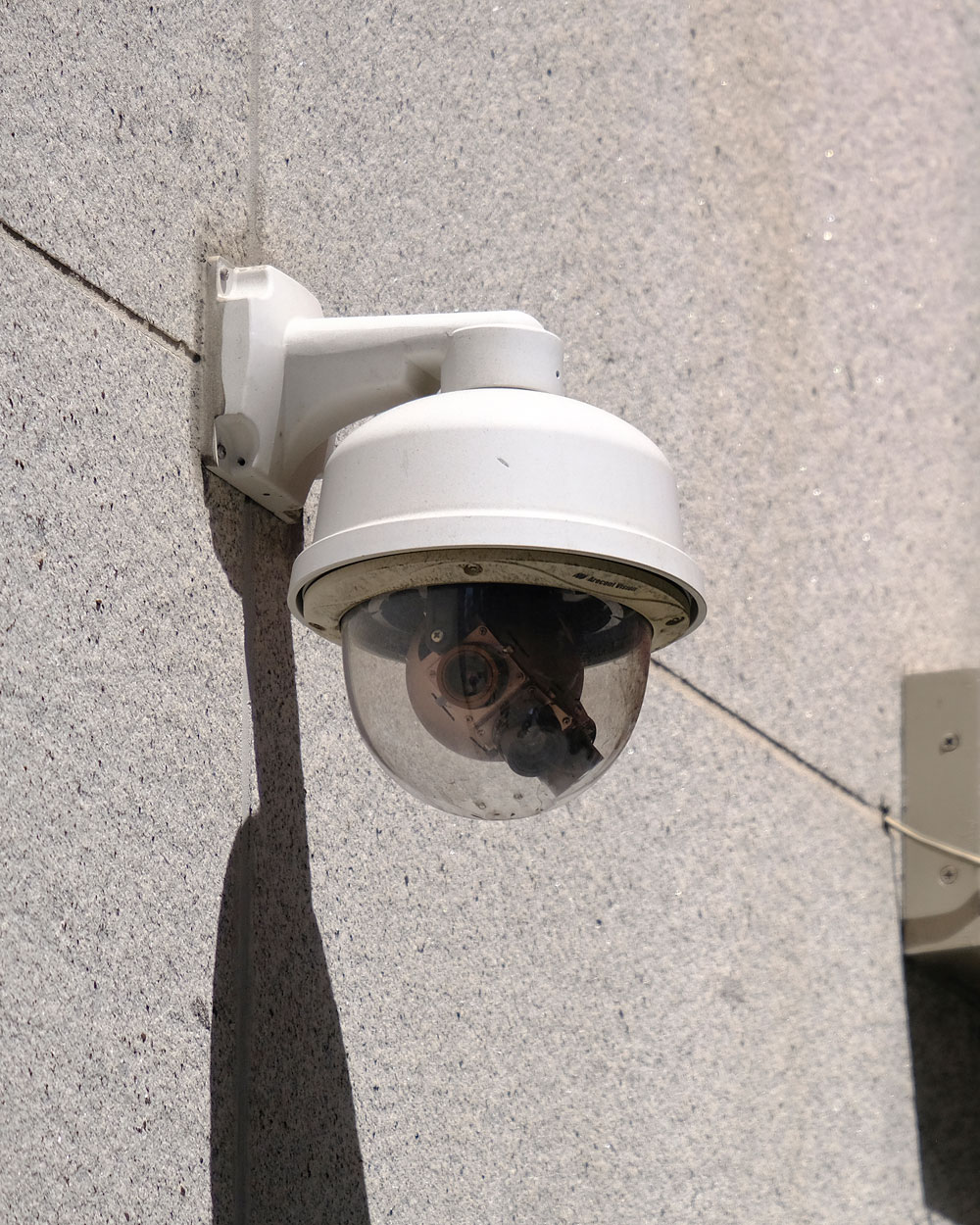 A security camera in the Financial District of San Francisco