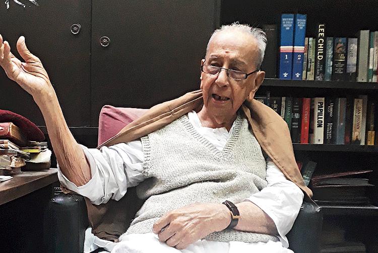 Amitendranath Tagore: Age: 98 years (DL Block)
