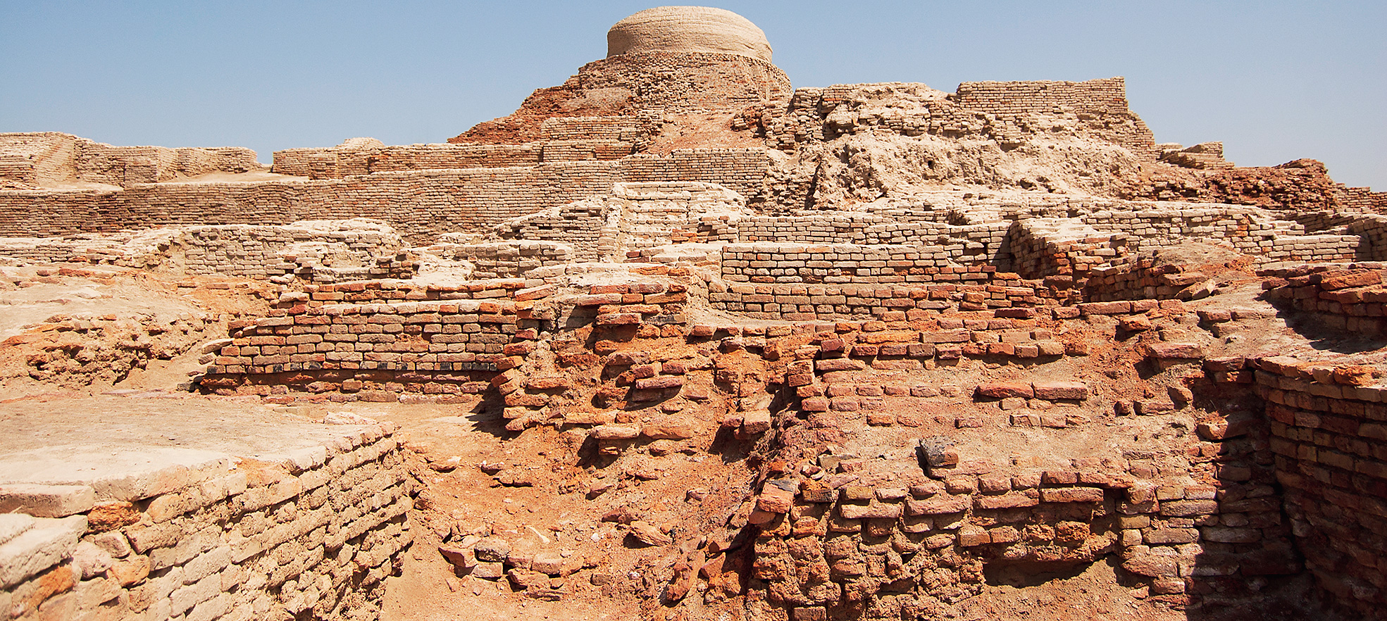 Mohenjo-daro, the second Harappan site to be excavated