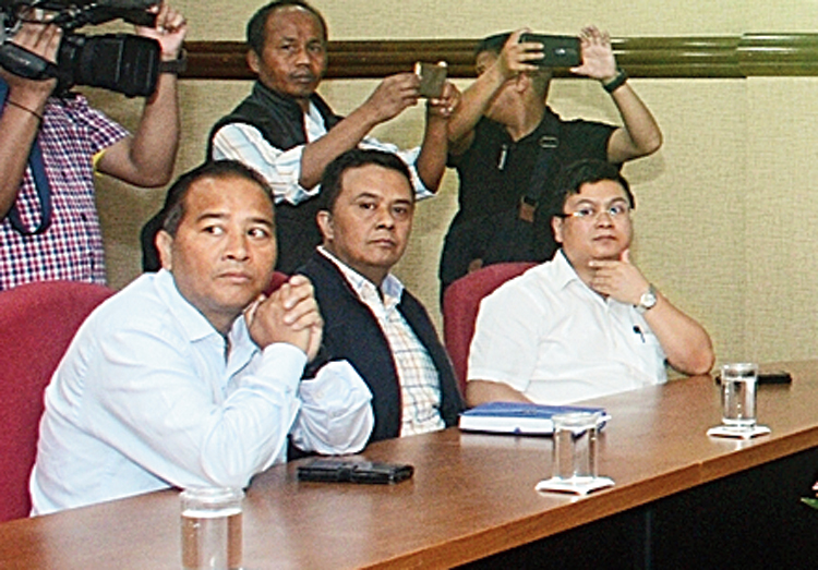Officials at the launch.