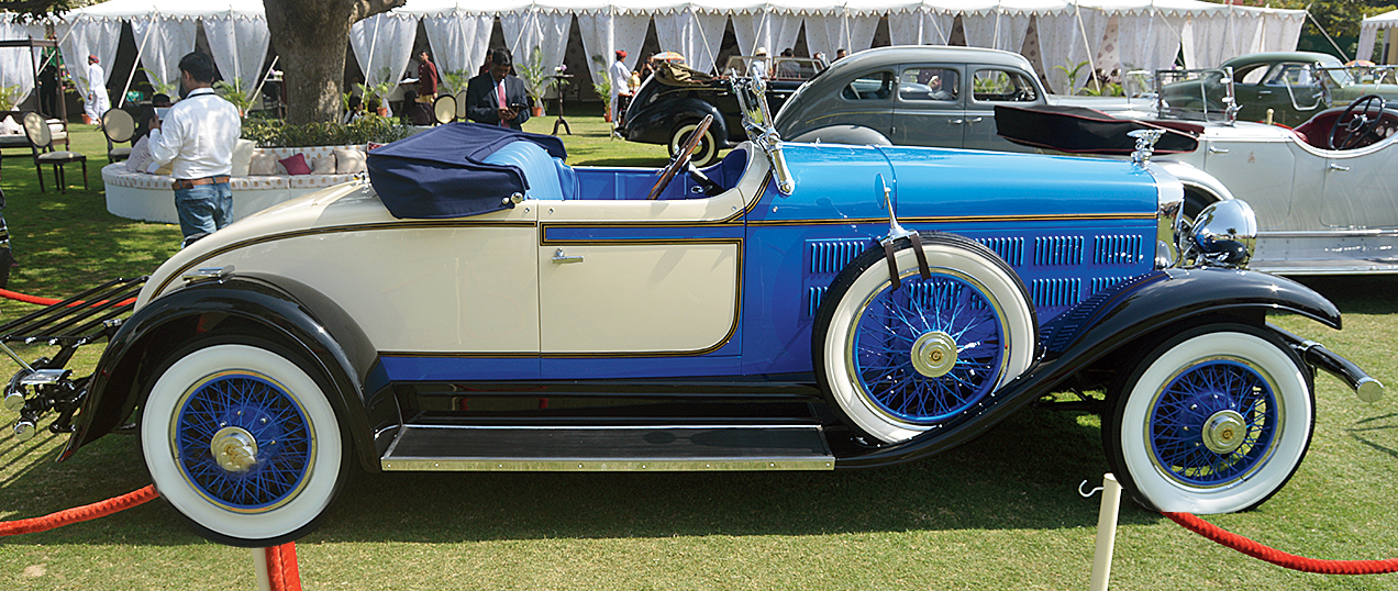 Gurgaon-based Madan Mohan's 1928 Gardner 85 roadster is a rare car and the only one in India. These cars came in 50 colours and with 25 interior options. Its straight-8 engine made it a fast car.