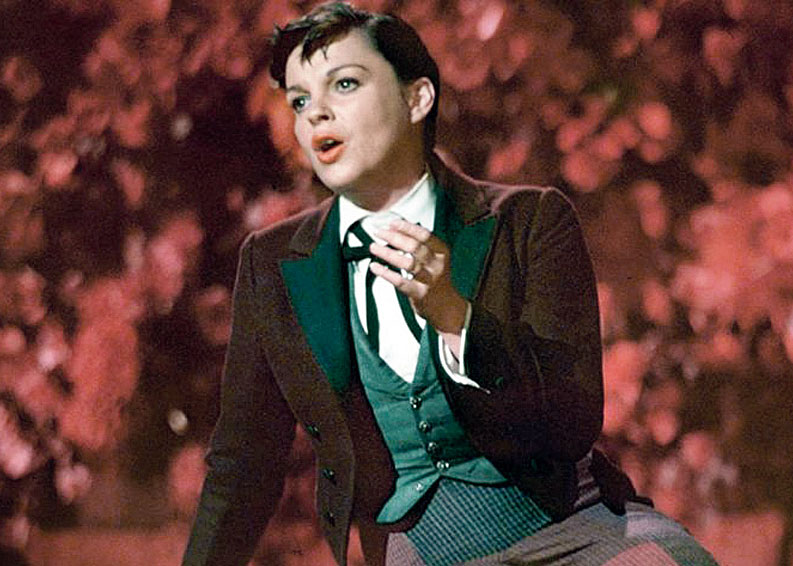 For both, the film represented a gamble: for her, taking a lead role previously played by Janet Gaynor, Judy Garland (in pic) and Barbra Streisand; for him, making a directorial debut with a remake of a classic. And both knew it
