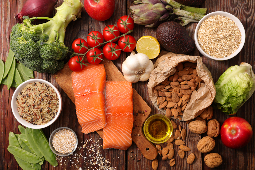 Eat high fiber foods that help facilitate regular bowels, as constipation makes the body more acidic.