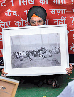 The Sikh massacres of 1984