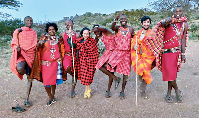 Living with Masai tribe in Kenya by Travel Love Repeat, a vegan travel agency