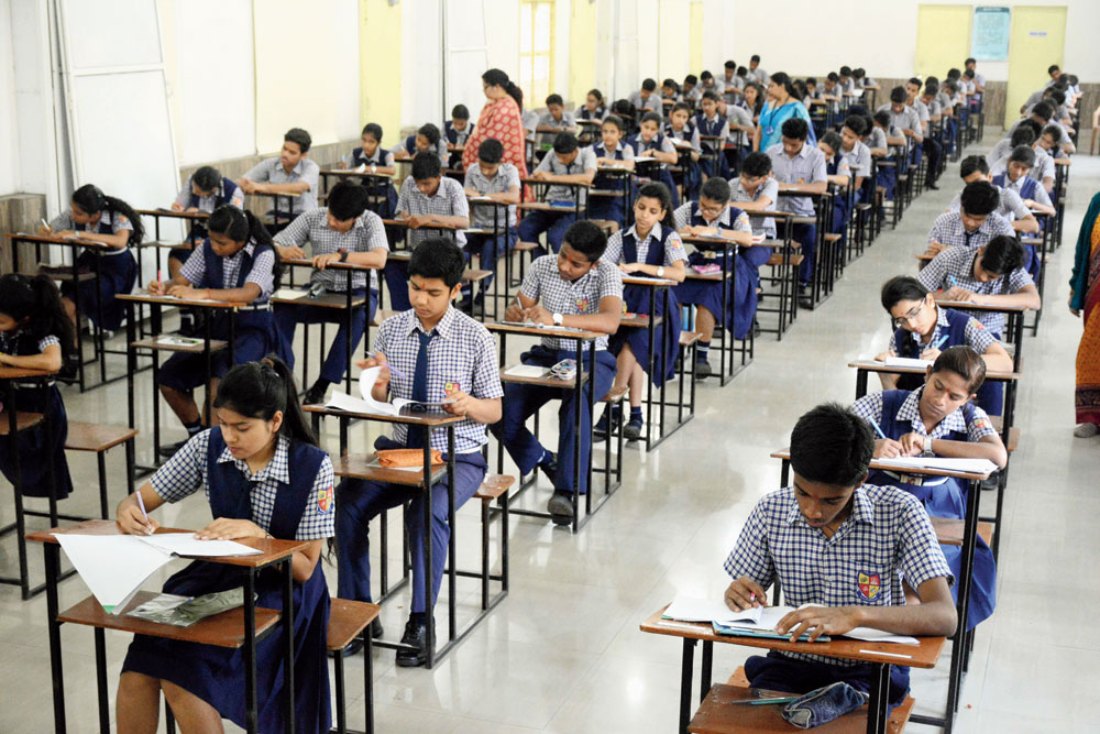 Annual examinations in Madhyamik schools are usually held between the third and fourth week of November and the selection tests by the first week of December.