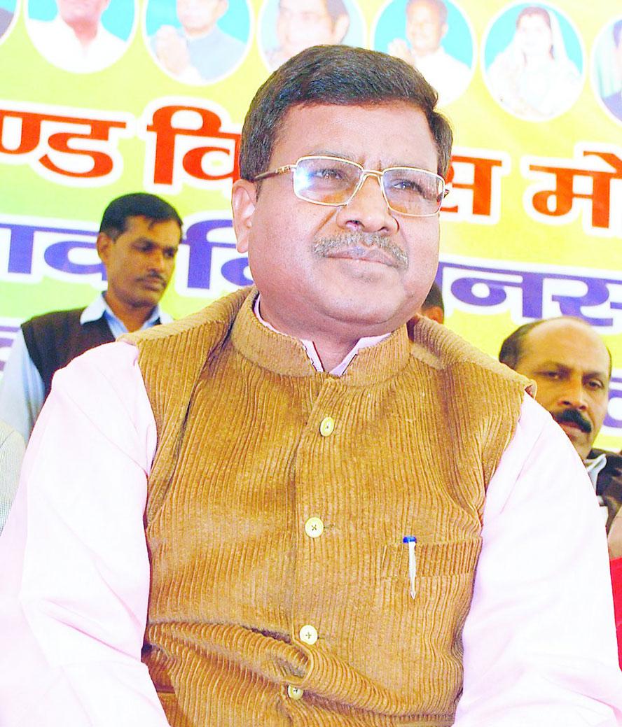 JVM chief Babulal Marandi