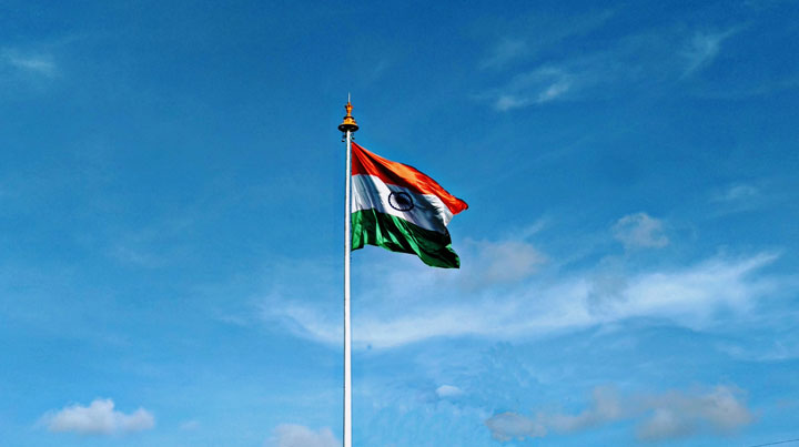 Tricolour unfurled at different places in Jamshedpur