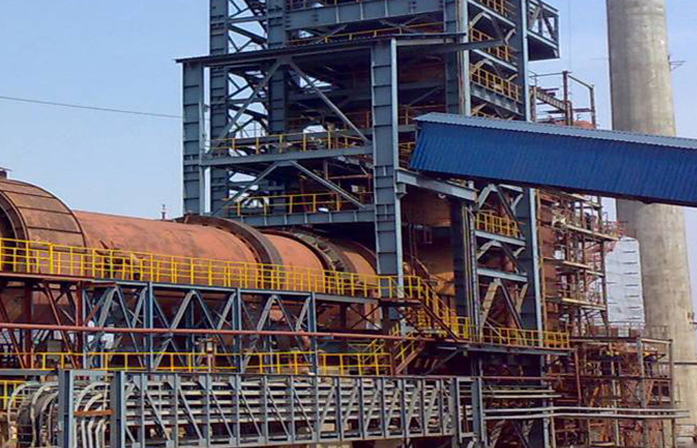 A Visa Steel plant in Orissa. Visa Steel has been able to put on hold insolvency proceedings because of a stay order passed by a division bench of Orissa High Court