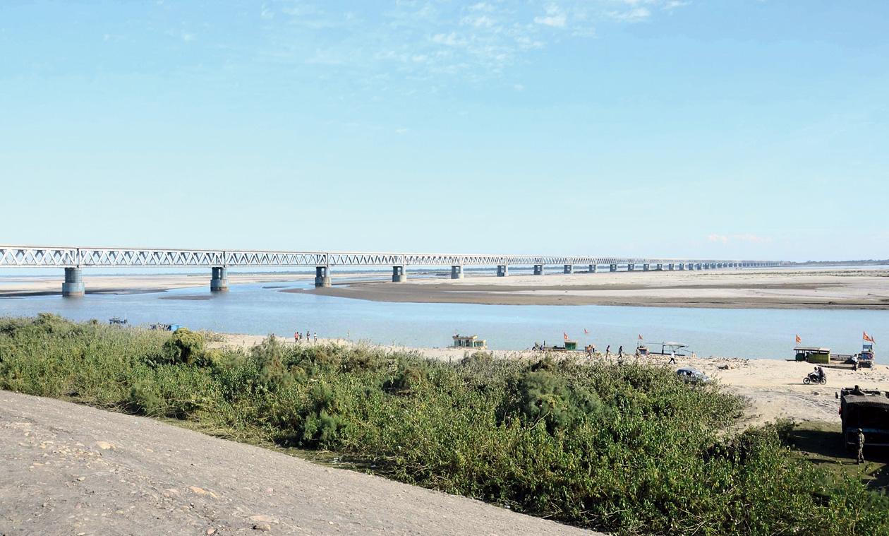 Debate over Bogibeel bridge's name