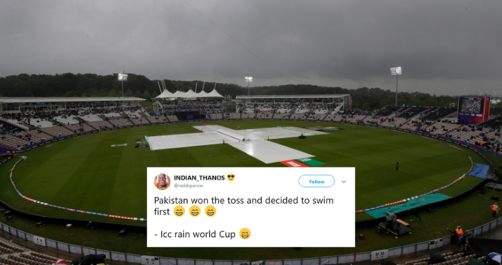 ICC Cricket World Cup 2019: Rain makes the fans pour their grief on Twitter