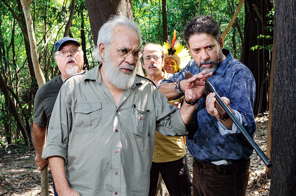 A moment from 'Professor Shanku O El Dorado', which releases on December 20