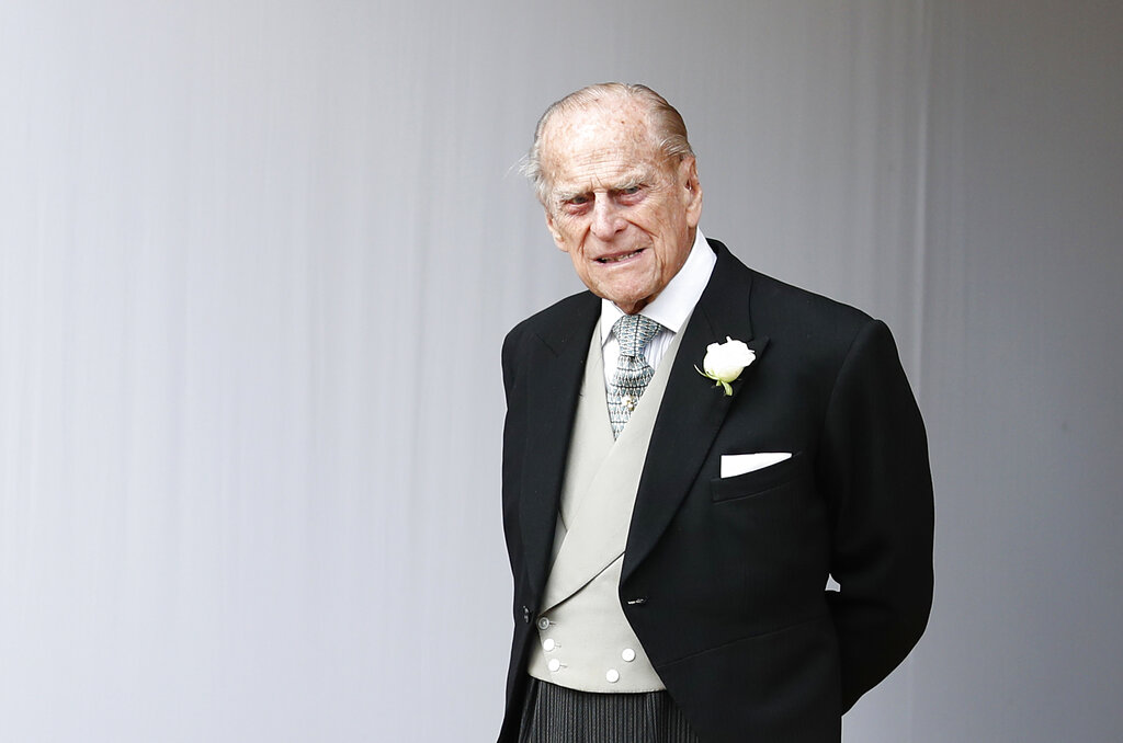 Britain's Prince Philip was involved in a accident on Thursday