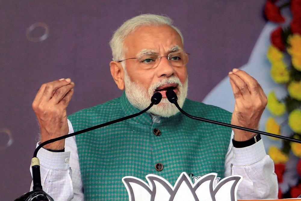 Economic growth is stuttering because of the Narendra Modi government's policies