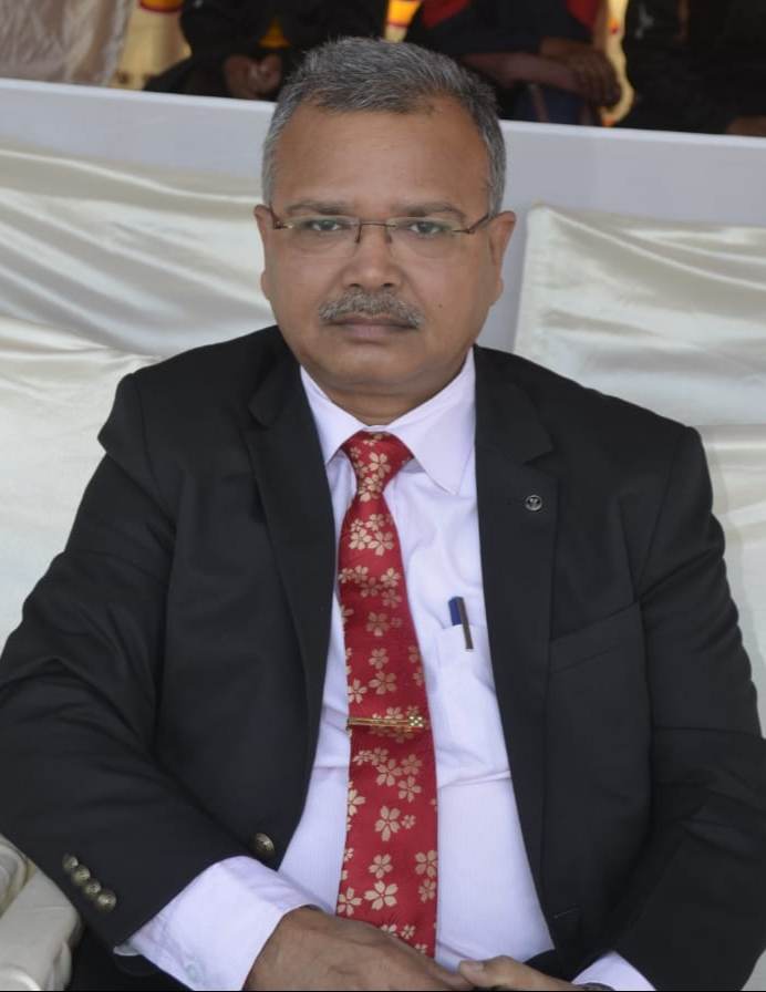 Sindri unit in-charge of Hindustan Urvarak and Rasayan Limited (HURL) Sunil Kumar Sinha.