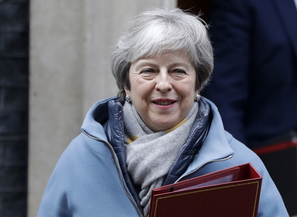 British PM Theresa May unveils Brexit Plan B, looks a lot like Plan A