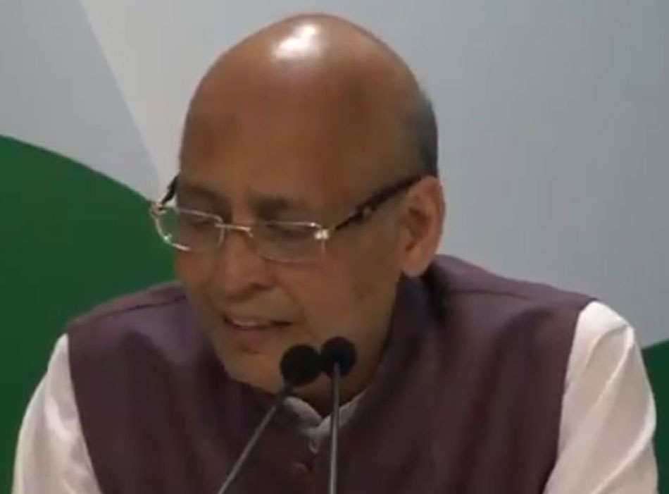 At a press briefing, Congress spokesperson Abhishek Singhvi said the government is raiding RBI for illegal and impermissible electoral sops.