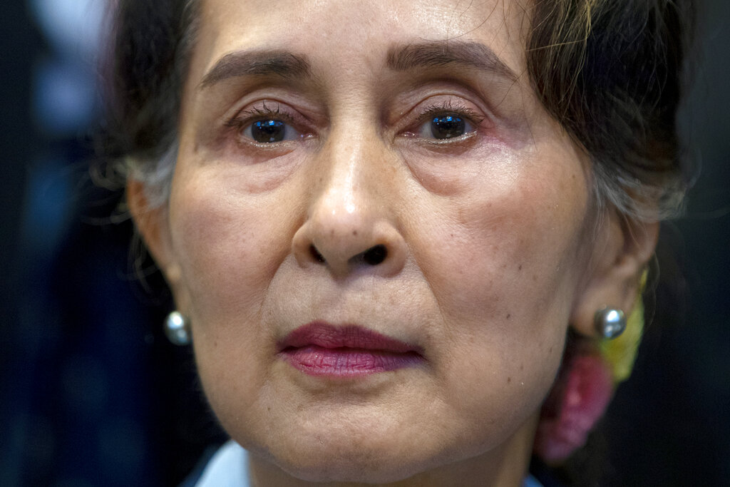 """""""Myanmar requests the court to remove the case from its list,"""" Suu Kyi said"""