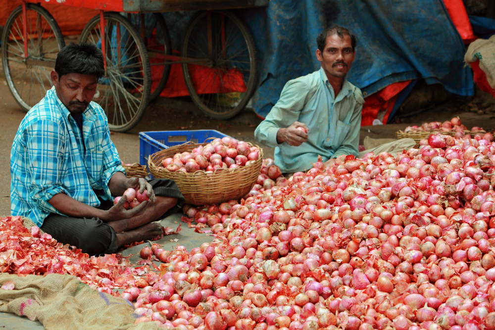 Retail onion prices have skyrocketed to Rs 60-80 per kg in Delhi and some other parts of the country