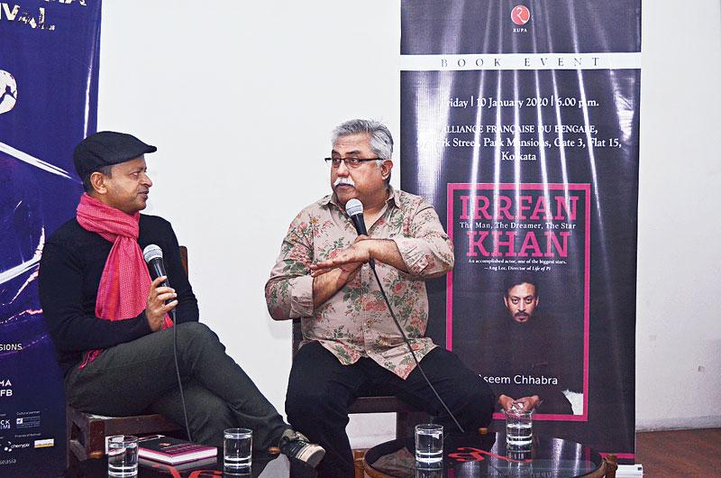 Writer Aseem Chhabra in conversation with Sandip Roy