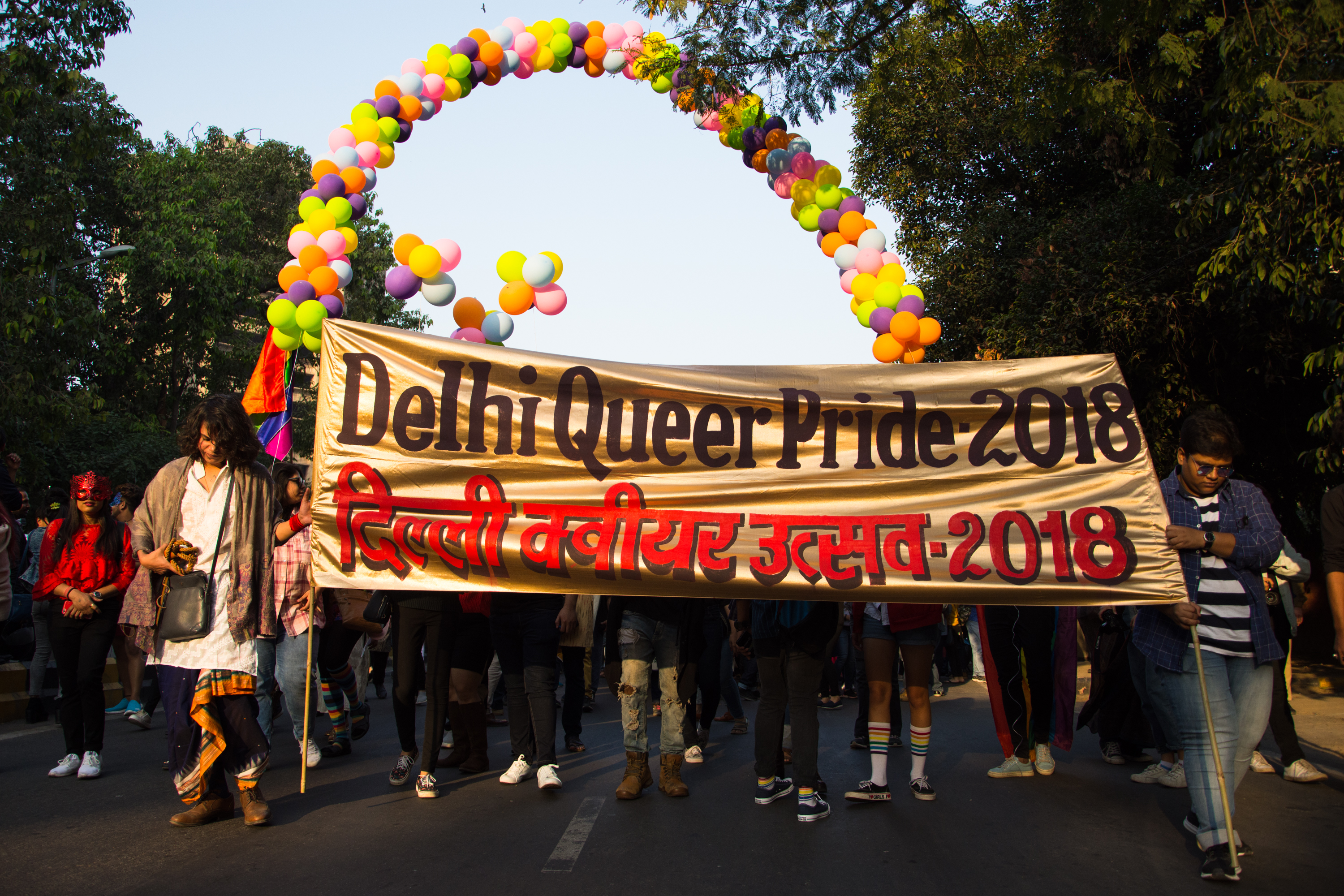 #Legalnow: Seen and heard at the Delhi Queer Pride