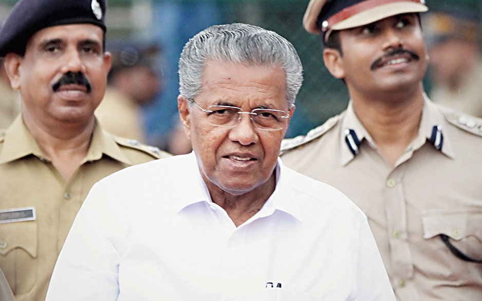 The government under Pinarayi Vijayan has been under fire for its handling of the police administration and the apparent lack of control over the home department.
