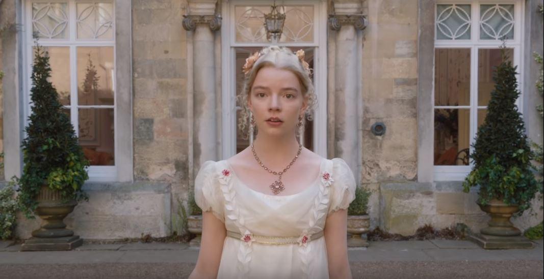 Anya Taylor-Joy in a still from Emma