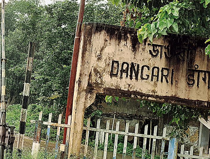 Dangari railway terminus.