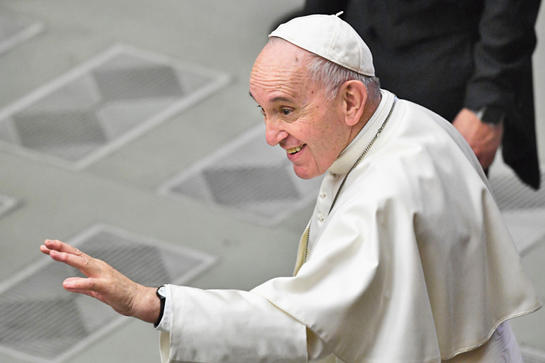 Pope Francis begins papacy.