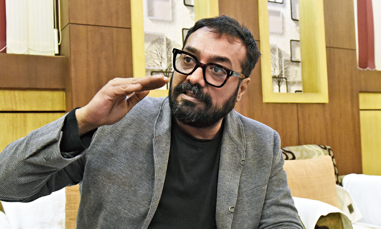 Anurag Kashyap narrates his plane experience.