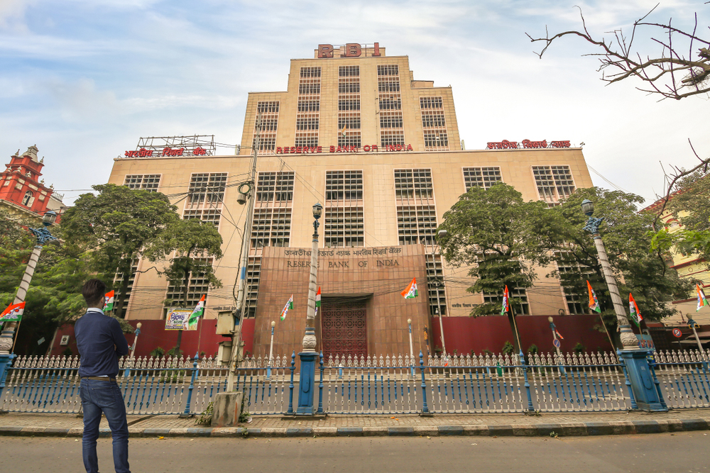 The Reserve Bank of India's Calcutta office
