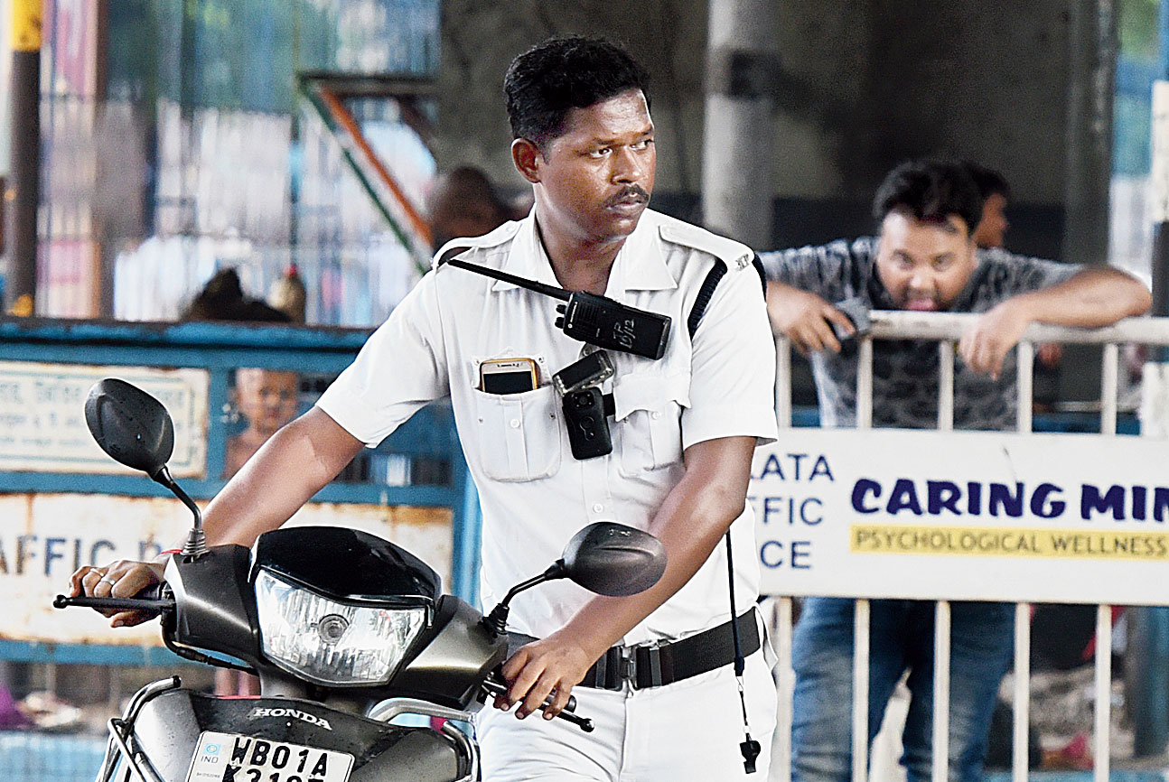 The cop seizes the two-wheeler when the scooterist fails to produce valid registration documents. As many as 239 bikers were prosecuted for riding without helmets and 498 motorcyclists for triple riding on Friday night.