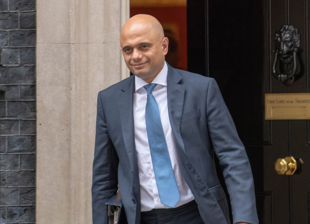 Sajid Javid, Britain's chancellor of the exchequer