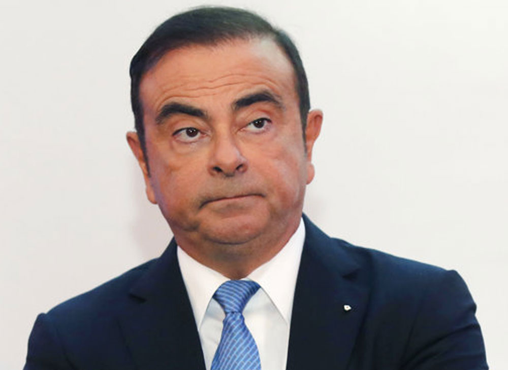 Nissan boss Carlos Ghosn arrested for financial misconduct