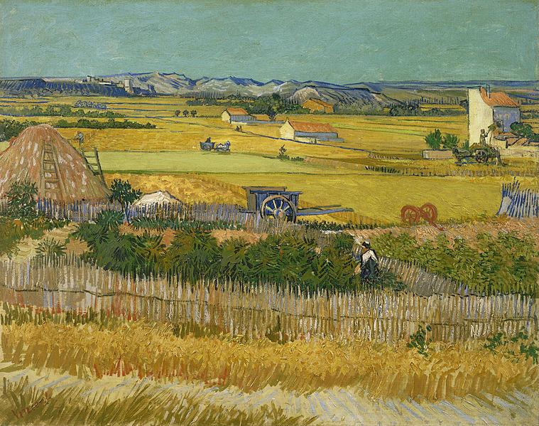 Vincent Van Gogh's painting De oogst