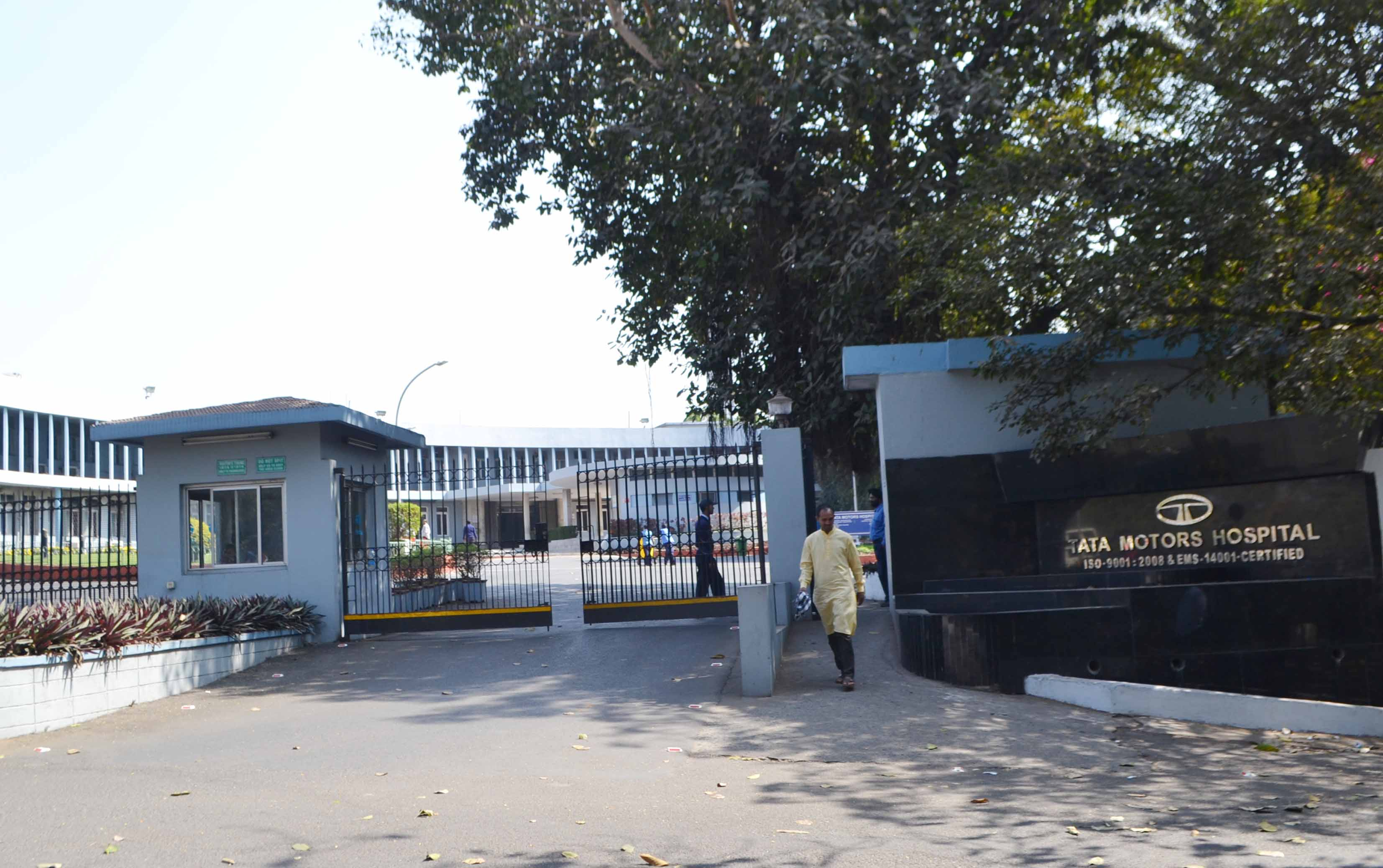 Tata Motors Hospital in Telco, Jamshedpur, where a patient tested positive for the coronavirus. As many as 15 medics, including doctors and nurses of the hospital, have been put under quarantine on Sunday