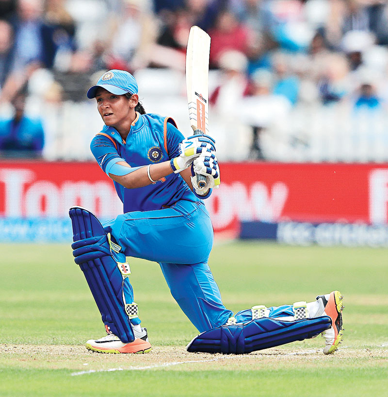 HARMANPREET KAUR (INDIA): Intent on redeeming the 50-over World Cup final loss from 2017, the Indian skipper is all set to lead a vibrant team in their bid for glory. The average age of the Indian squad is 23, meaning at 30, Kaur is one of the few seasoned cricketers in the line-up. Alongside Smriti Mandhana, Kaur will form the fulcrum of India's batting, while also contributing to the bowling department with her off-breaks. Kaur has been a pioneer among her compatriots in the shortest format of the game, becoming the first Indian to sign a Big Bash contract and feature in the Kia Super League. If India are to at least match their semi-final run from 2018, Kaur will have to be at her inspiring best, conjuring similar displays to the one she produced against New Zealand in the opening match of the previous edition — an explosive 103 off just 51 balls — a powerful reminder of what this fierce batswoman can achieve.