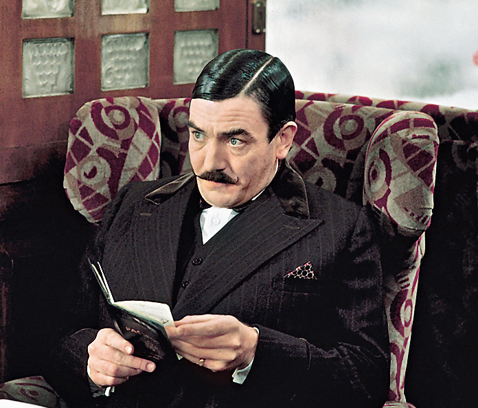 Albert Finney as Hercule Poirot