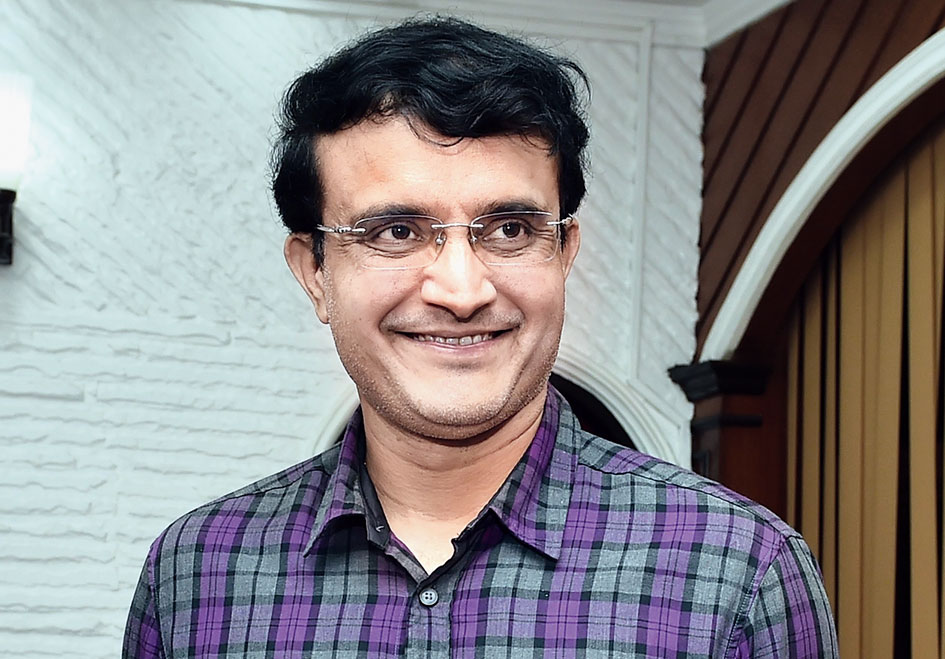 Sourav Ganguly at the Eden on Monday.